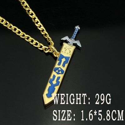 Hot Game The Legend Of Zelda Necklace Removable Master Sword Necklace