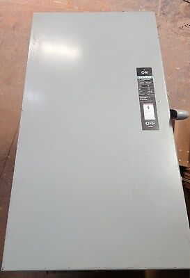 Siemens JN425 400 Amp 3 Pole 240V Fusible Disconnect Switch