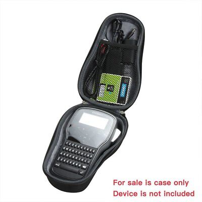 DYMO LabelManager 160 Personal Hand-Held Label Maker Machine Printer Hard Case