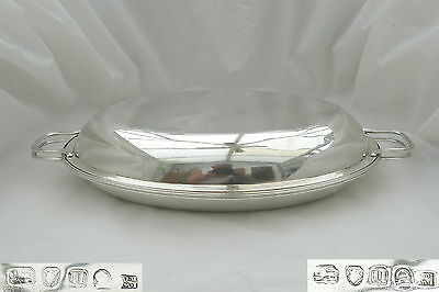 Rare George Iii Hm Sterling Silver Entree Dish 1795