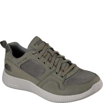 9bd65017a590 Men s Skechers Depth Charge Eaddy - Olive - Width  med - Fashion Sneakers