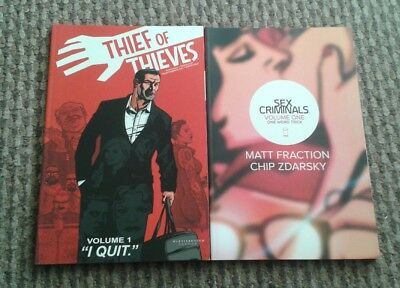 Sex Criminals Vol1 & Thief Of Thieves Vol 1 Image Comics Tb