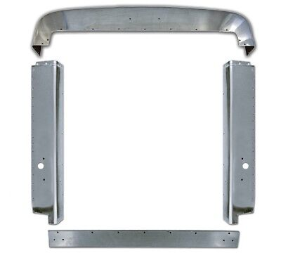 Peterbilt 357 378 Stainless Steel Grill Trim Set With Holes