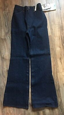 1970's Vintage Levis Size 8 High Rise Denim Jeans NWT RARE Halloween 60's 70's