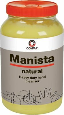 Comma Manista Hand Cleaner Natural Heavy Duty 3L Litre Tub Oil Grease Cleanser