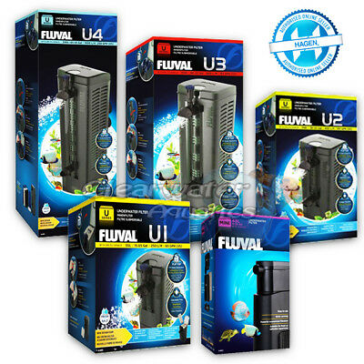 Fluval Mini U1 U2 U3 U4 Underwater Internal Aquarium Fish Tank Power Filter