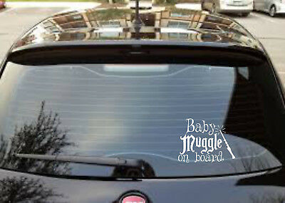 Baby Muggle On Board Cute Harry Potter Lustiger Auto