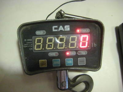 CAS IE-2000E, LED Crane Scale, 2000 lbs x 1 lbs