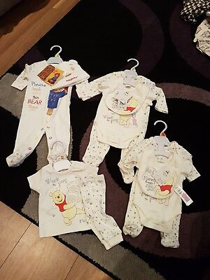 Disney tiny baby and newborn outfits and babygrows