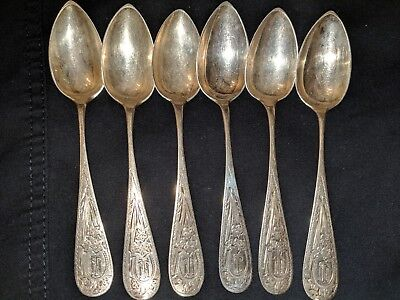 Solid Silver Spoons 800...95g