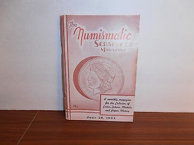The Numismatic Scrapbook Magazine June 20, 1954 Monthly Coin Collecting