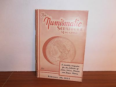 The Numismatic Scrapbook Magazine February 20, 1954 Monthly Coin Collecting
