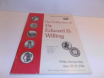 Vintage Bowers & Ruddy The Collection of  Dr. Edward B. Willing 1976