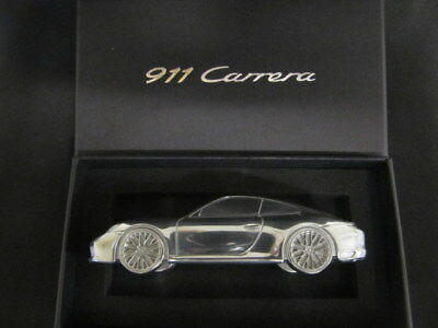 Porsche 911 Carrera paperweight solid billet, New in box