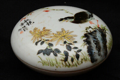 A nice little Chinese porcelain box