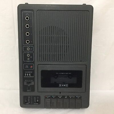 Original Vintage EIKI Commercial Cassette Tape Player Recorder Model 3279A