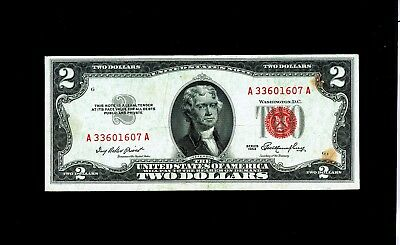 1953  $2 Red Seal United States Note