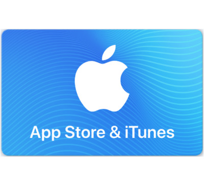 App Store & iTunes Gift Cards $30 $50 or $100 - Fast Email Delivery
