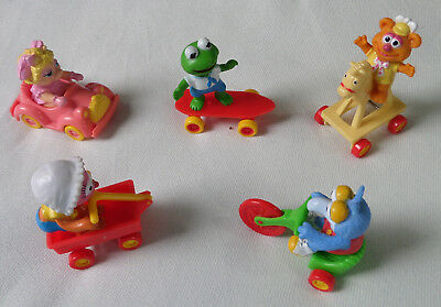 McDonalds Muppet Babies Happy Meal Toys Complete Set of 5