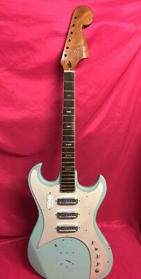 Vintage Kawai Sd3w Electric Guitar For Parts Or Repair