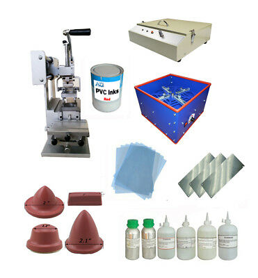 DIY Full Set:Pad Printing Machine&Emulsion Coating Machine&UV Exposure Unit etc.