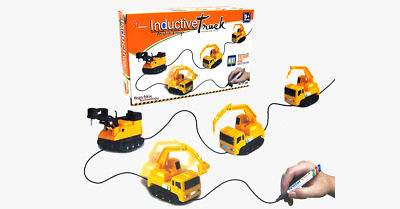 Magic Truck Magic Car Truck Line Tracing Toy - watch video inside