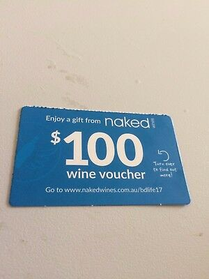 $100 Naked Wines Gift Card Voucher