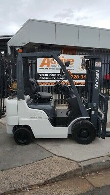 Nissan Forklift Container Entry Side Shift 4.3m Lift Low Hrs Fresh Paint $11999+