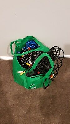 Assorted Cables Bulk Listing - Big Bag Full Of Cables Etc