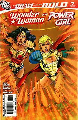 Brave and the Bold (2007-2010) #7 ~ DC Comics ~ Wonder Woman / Power Girl