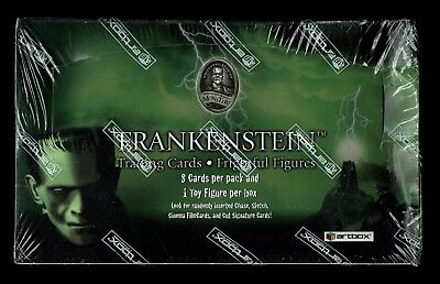 2006 Artbox Frankenstein Trading Cards Frightful Figures Box Sealed /2500