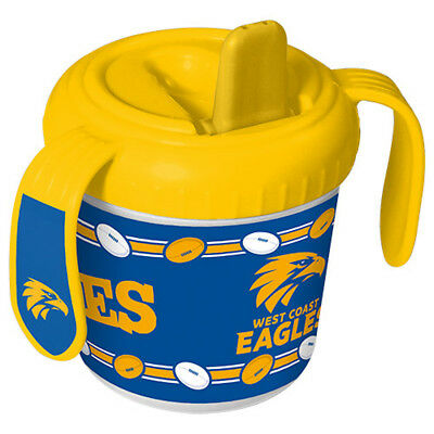 West Coast Eagles AFL Toddler Training Sippy Sipper Cup