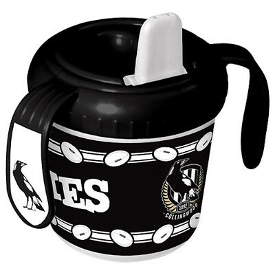 Collingwood Magpies AFL Toddler Training Sippy Sipper Cup
