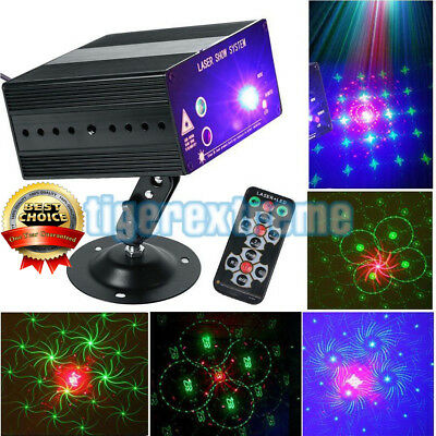 48 Pattern Laser Projector Stage Lights Mini LED RGB Lighting for Party DJ Disco