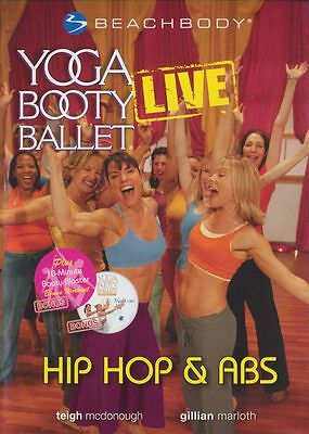 Beachbody YOGA BOOTY BALLET LIVE ~ HIP HOP & ABS ~ DVD