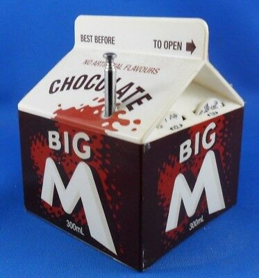 Chocolate Big M Transistor Radio - AM/FM - Full Working Order