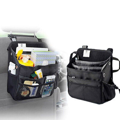 Car Seat Back Bag Organizer Storage CUP Holder Multi-Pocket  For iPad Smartphone