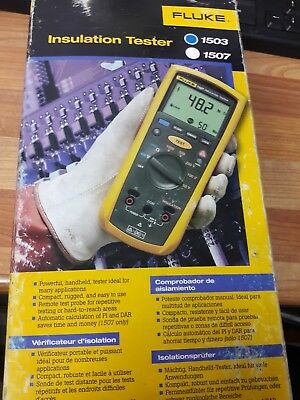 Fluke 1503 Insulation Tester - With Calibration Certificate