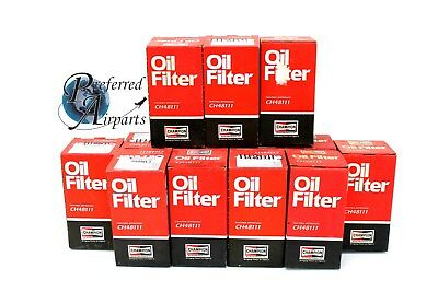 Lot of 12 Champion Aviation Products Spin On Oil Filter p/n CH48111