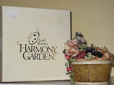 Harmony Kingdom Garden FALL BOUQUET 2000 Ltd. Edition #1603/3600 Orig. $75