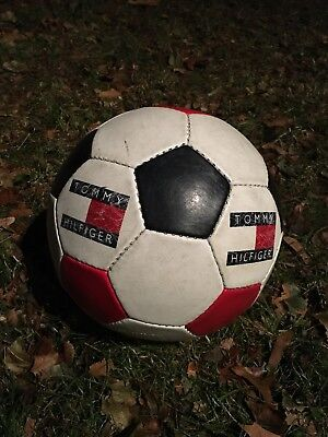 Vintage Tommy Hilfiger Soccer Ball Rare 90s Collectible Supreme EUC Big Flag