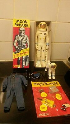 gilbert toys moon mcdare and mutt 1960s free post no reserve