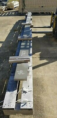 """Large Inconel 625 Flat Bar 18 Feet Long, 1-1/4"""" Thick, 7"""" Wide"""