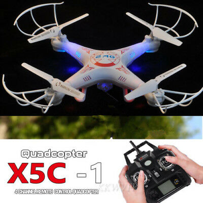 New X5C-1 2.4GHz 4CH 6 Axis RC Quadcopter Drone RTF W/HD RC Dron Explorers US