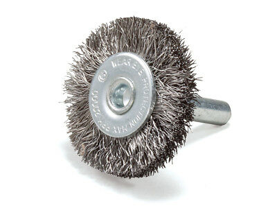 "5 Pack - 2"" Crimped Stainless Steel Wire Wheel Brush with 1/4"" Shank"