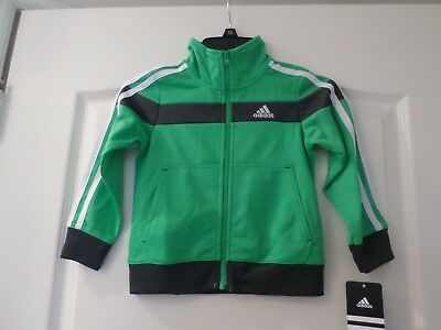 New with tags Adidas boys jacket , size 2T ,color bright green