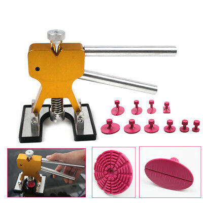 Car Body Hail Glue Puller Tabs Removal Dent Repair Lifter Paintless pdr Tool Kit