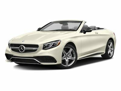2017 Mercedes-Benz S-Class  2017 Convertible New Twin Turbo Premium Unleaded V-8 5.5 L/333 Automatic AWD