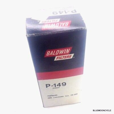 Three Pack Baldwin P-149 oil filter BMW Motorcycle Replaces 11 42 1 253 919