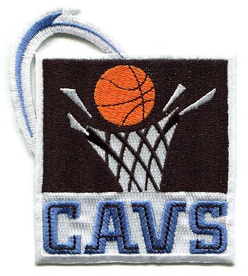 "1994-2003 Cleveland Cavs Cavaliers Nba Basketball Vintage 4"" Team Patch"